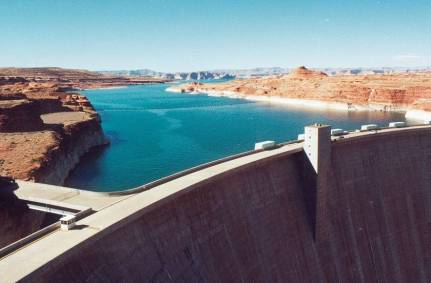 Lake Powell. Page.