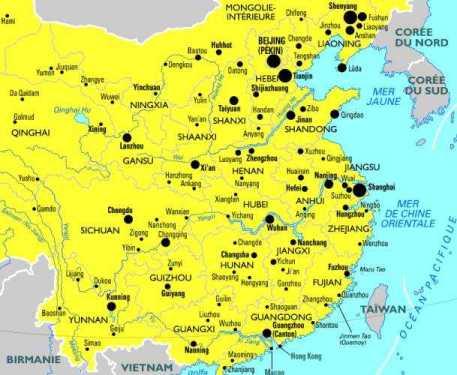 La vie en chine est bon marché (sauf hong kong) et les chinois sont